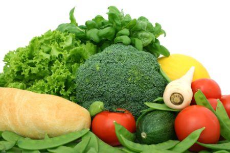 Vegetables Bread