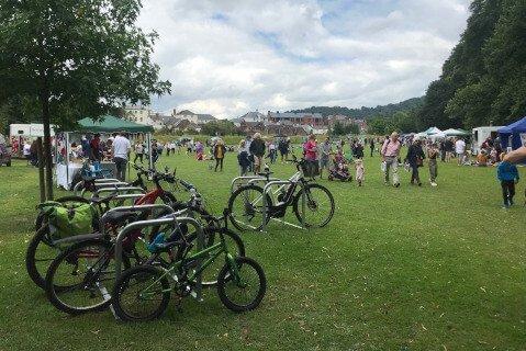 Cycle Racks Bee Festival