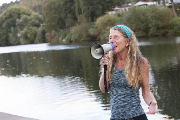 Angela Jones - Health of the River Wye