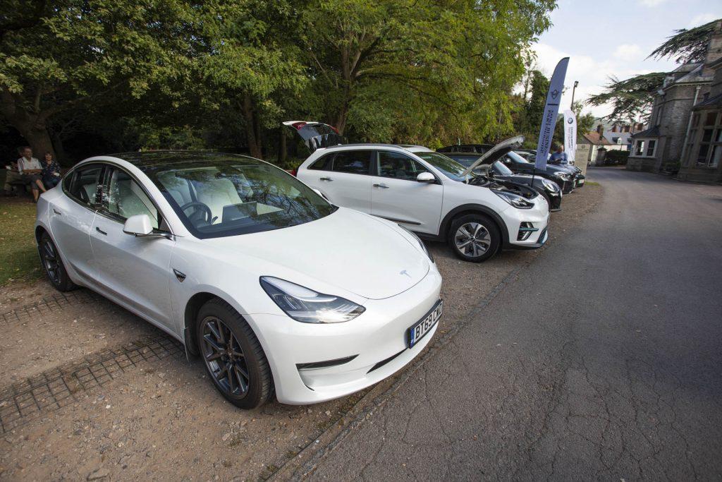 Electric Cars at Bridges