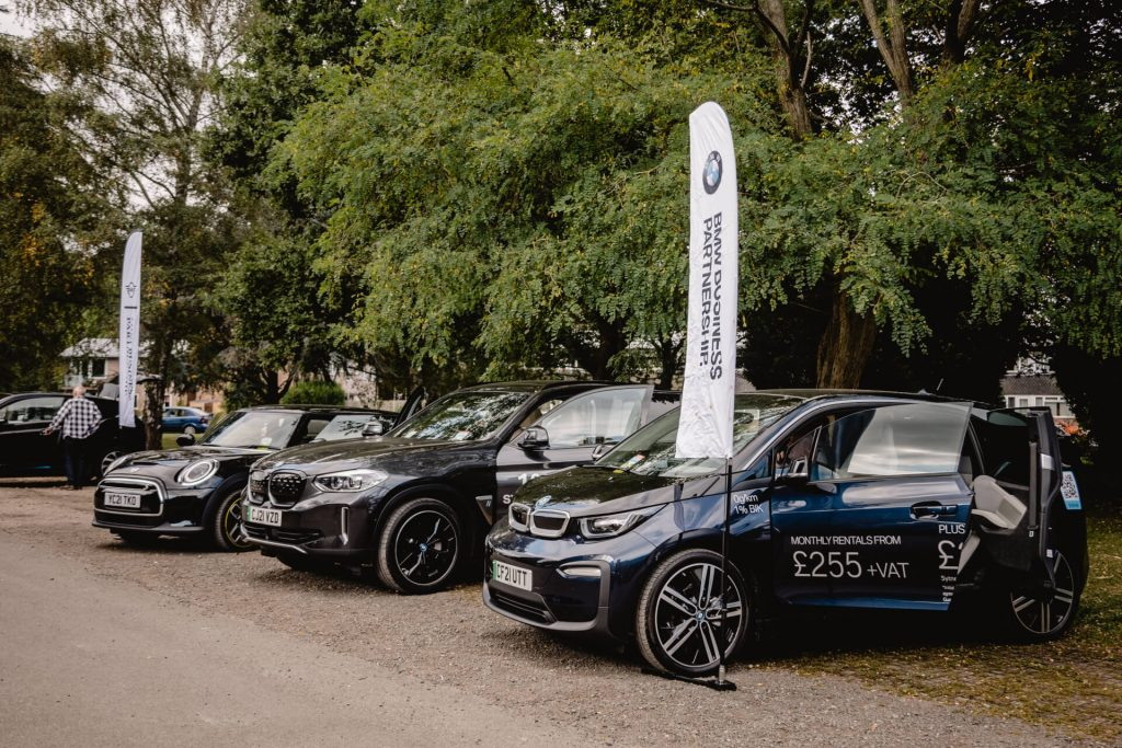 Electric vehicle show at Bridges