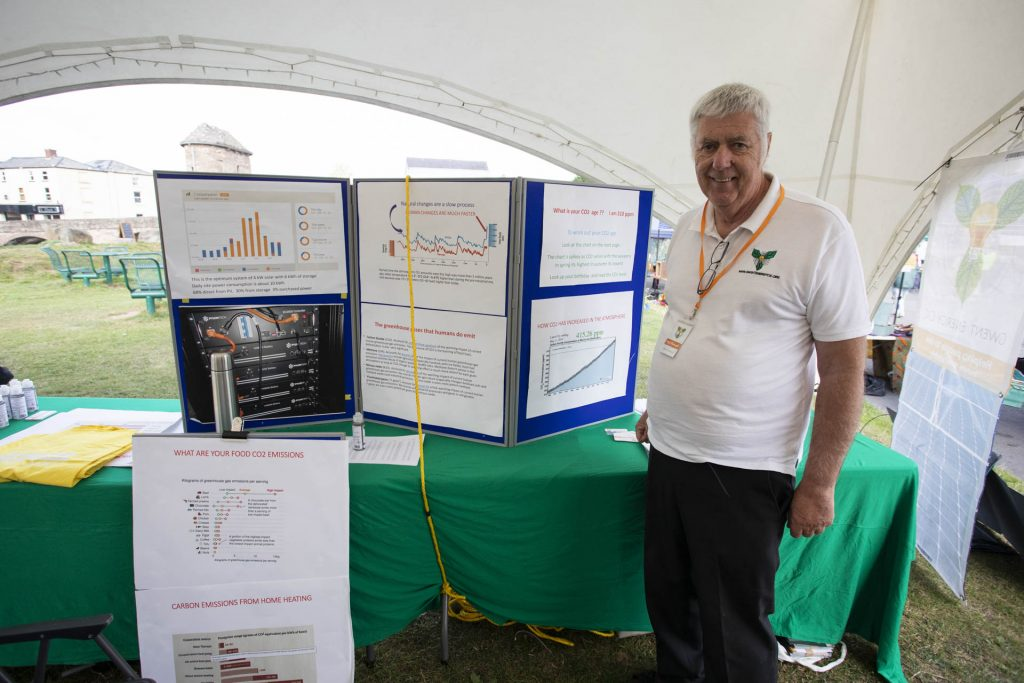Gwent Energy CIC stall