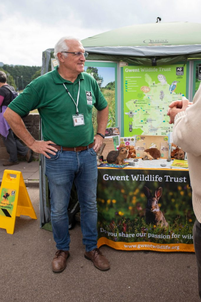 Gwent Wildlife Trust stall