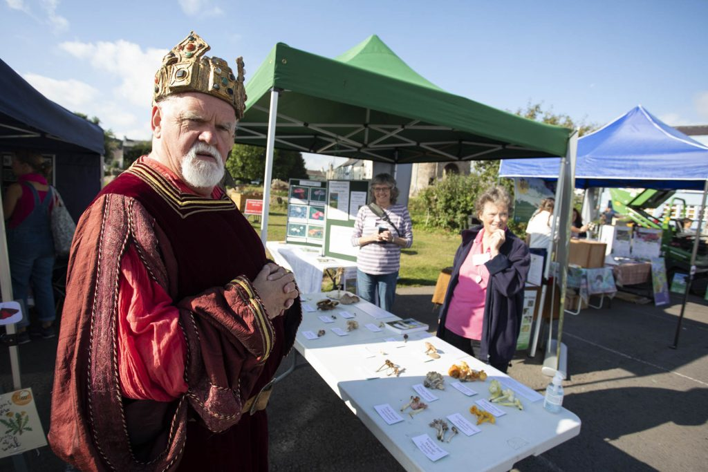 Henry V at a stall