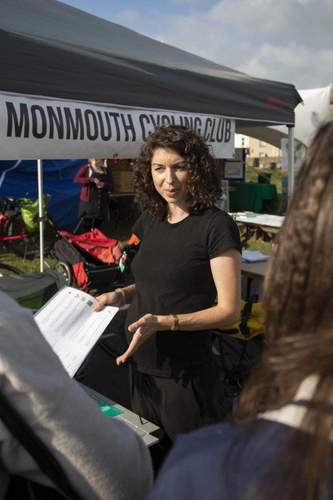 Monmouth Cycling Club stall