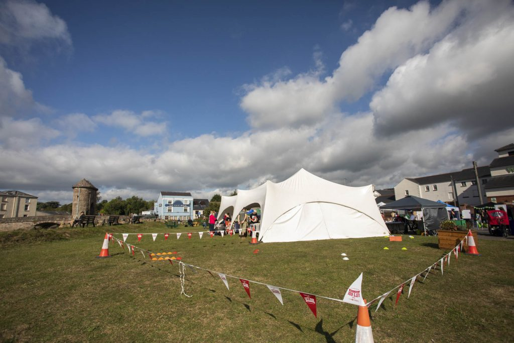Marquee and Balance bike course