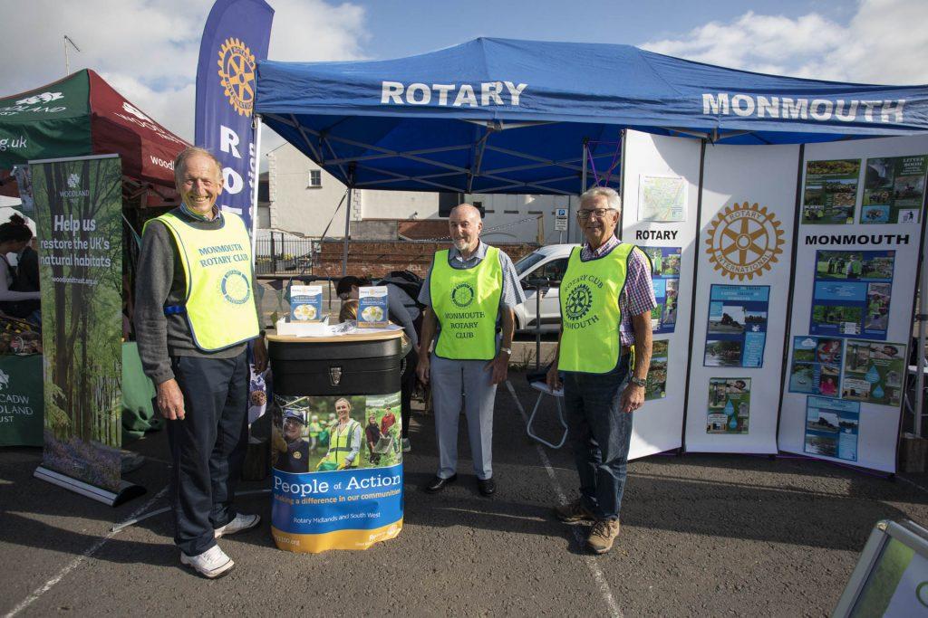 Monmouth Rotary Club stall