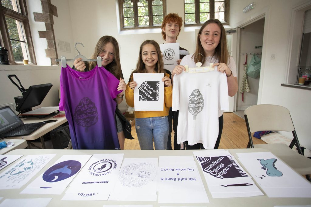 Monmouth comprehensive t-shirt printing