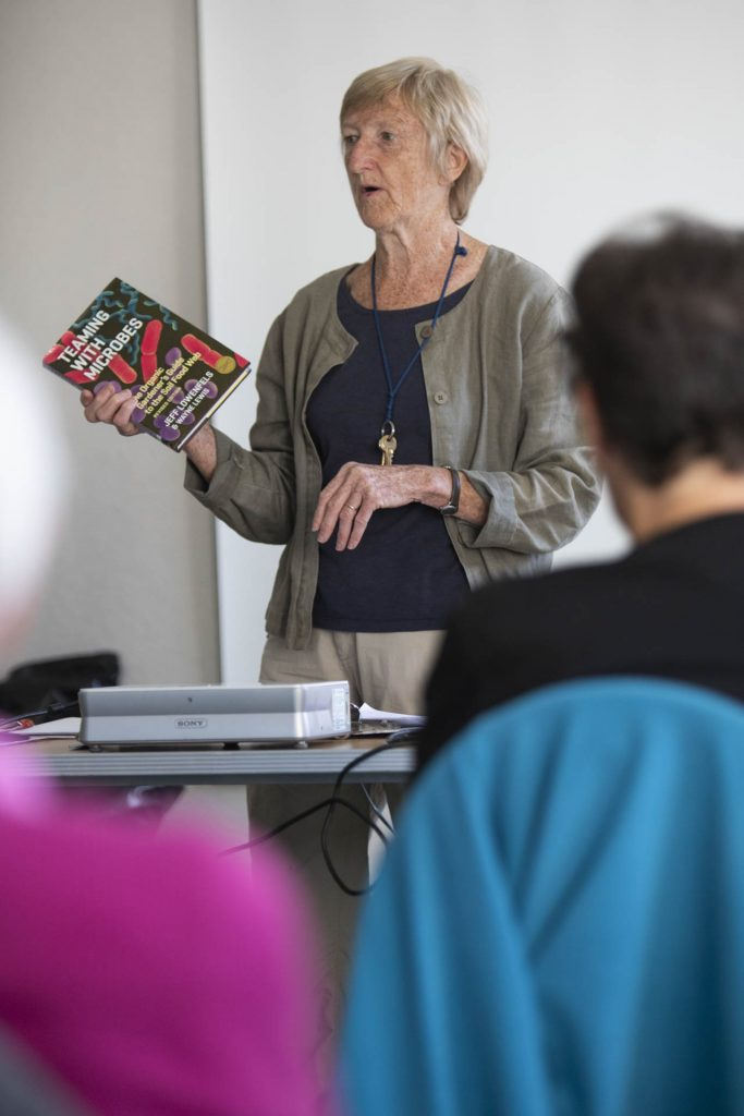 Sue Mabberley - compost making workshop