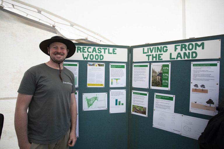 Trecastle wood - One Planet Living